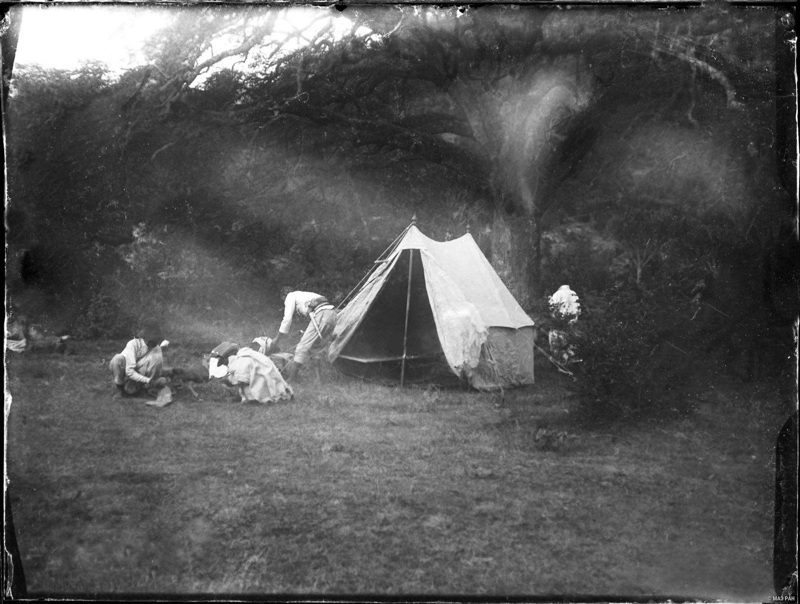 17. Установка палатки