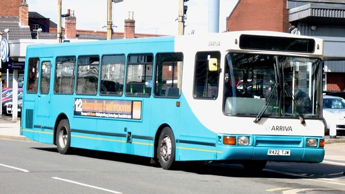 R422 TJW 'ARRIVA Midlands' No. 1422. Scania L113CRL / Plaxton on Dennis Basford's railsroadsrunways.blogspot.co.uk'