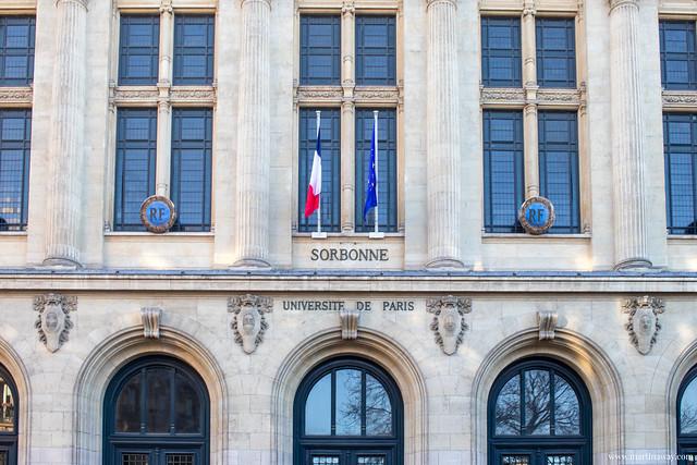 Sorbonne, Quartiere Latino di Parigi