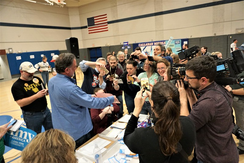 Witnessing a Caucus in Des Moines - 2020 Iowa Caucus