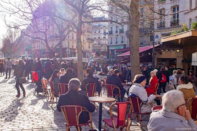 Rue Mouffetard, Quartiere Latino di Parigi