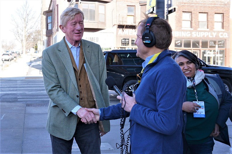 Bill Weld Meet & Greet in Des Moines, Feb. 2, 2020 - 2020 Iowa Caucus