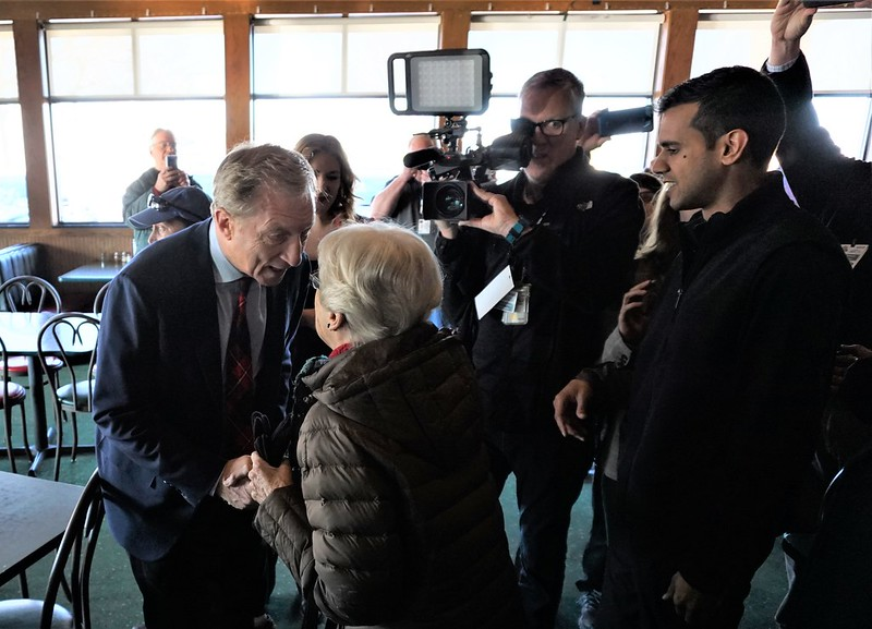 Meet & Greet with Tom Steyer in Des Moines, Feb. 1, 2020 - 2020 Iowa Caucus