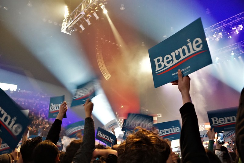 Bernie Sanders Event in Cedar Rapids, Iowa, Feb. 1, 2020 - 2020 Iowa Caucus