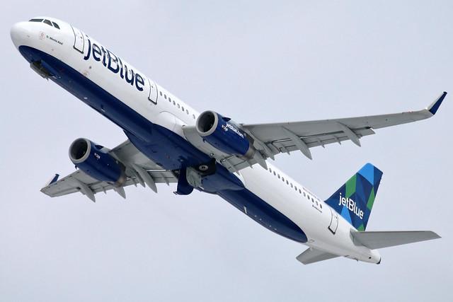 N978JB jetBlue A321-231SL at KCLE