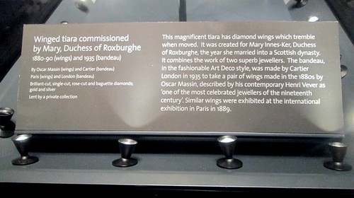 "V&A Dundee, ""Butterfly"" Tiara Blurb"