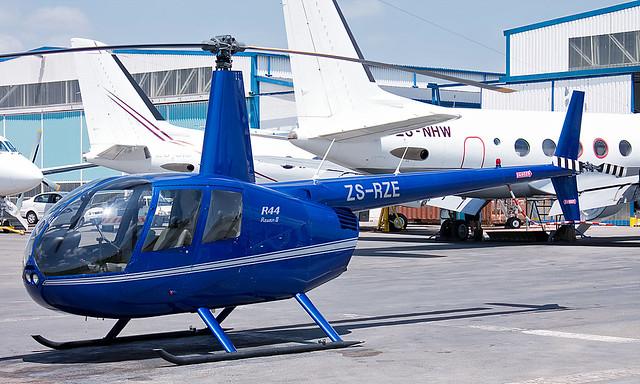 Robinson R44 Raven II ZS-RZE