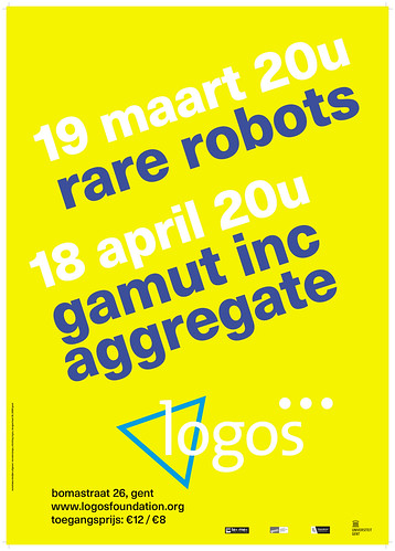 Logos poster March April | by Peter Van Lancker