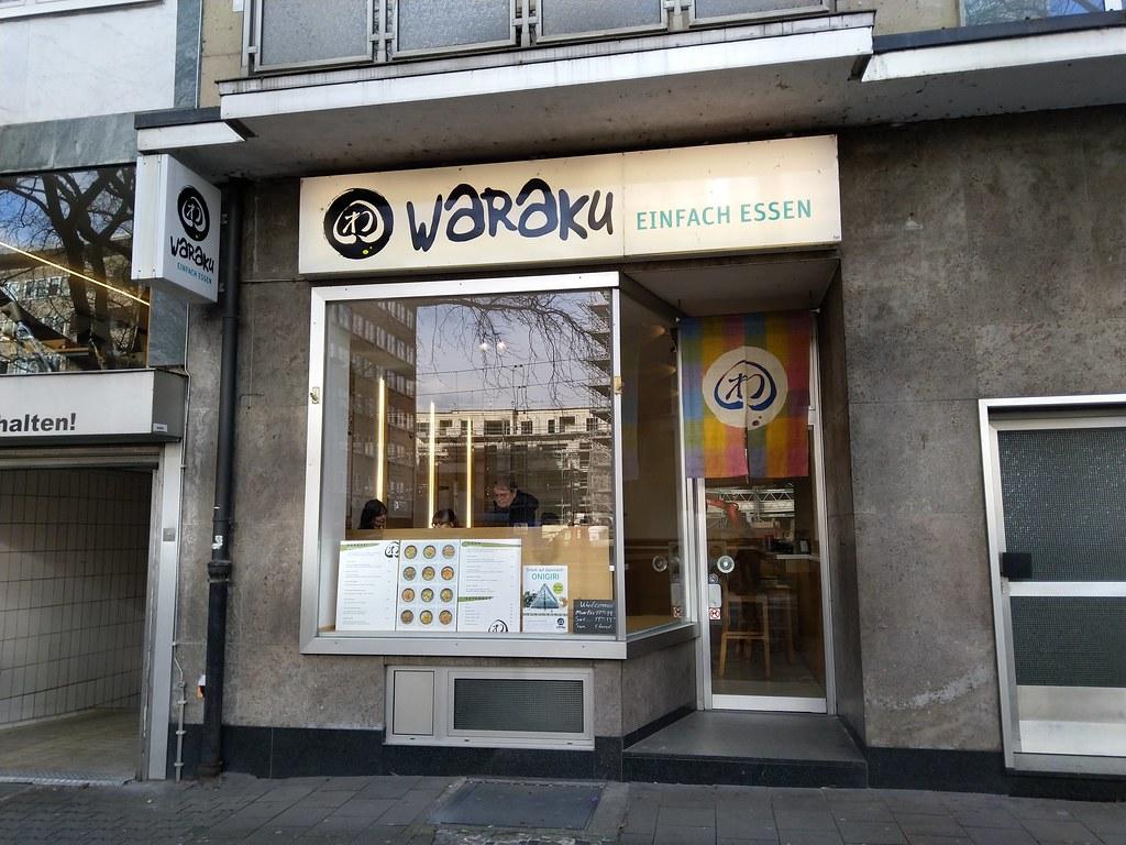 Waraku Japanese Restaurant, Dusseldorf