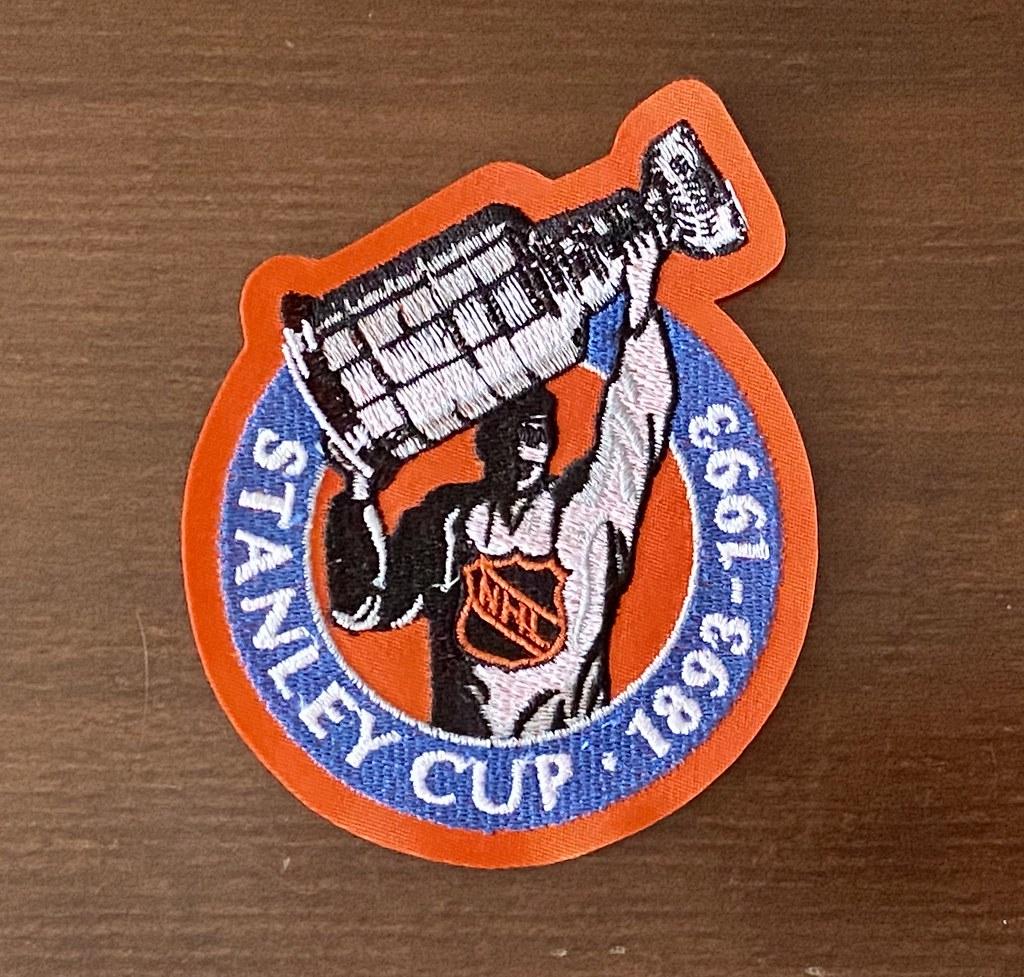 1992-93 Winnipeg Jets SC 100 alternate patch
