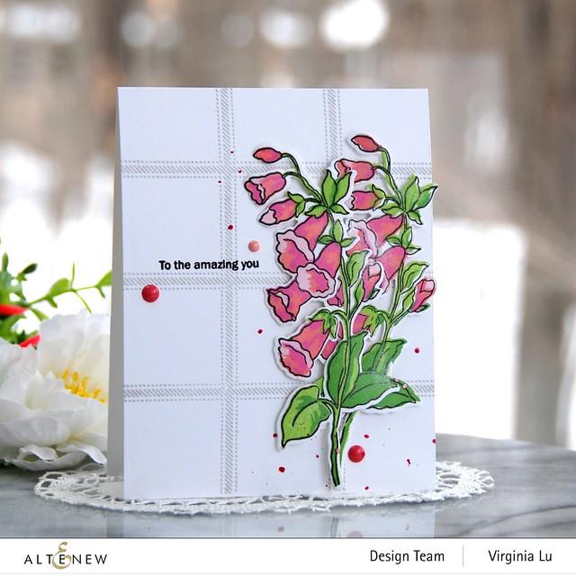 Altenew-Build-A-Flower Canterbury Bells-Virginia#2