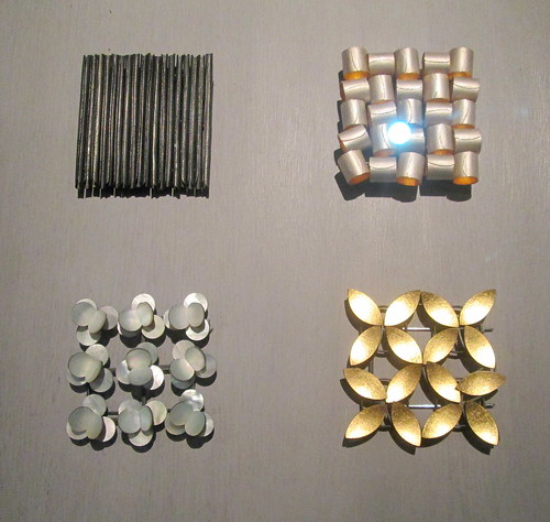 Geometric Brooches, V&A Dundee