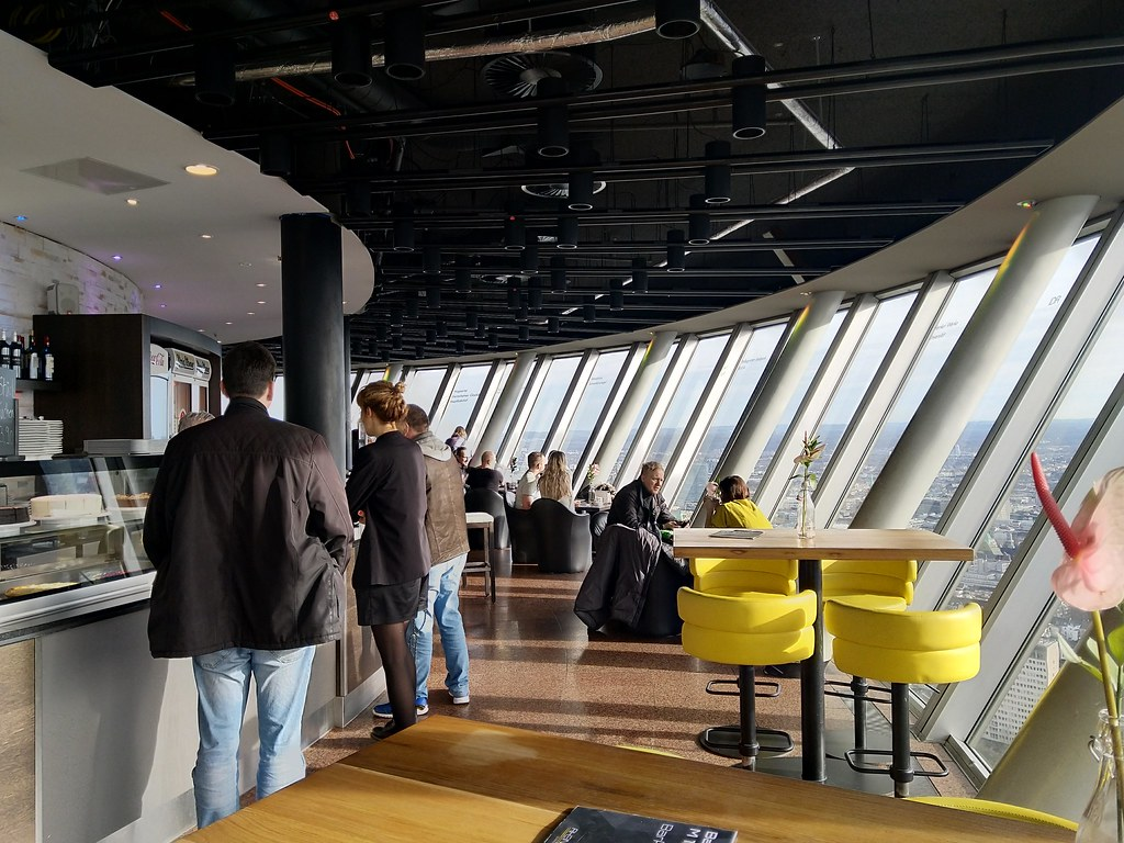 Rheinturm observation deck and cafe/bar