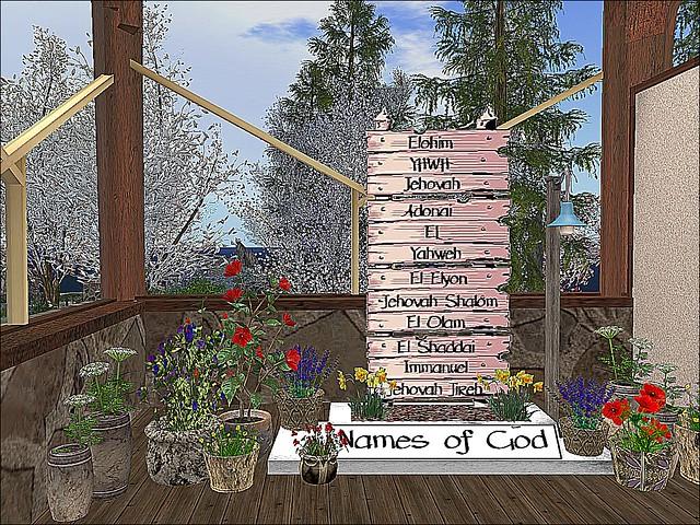 House of Prayer - Names of God