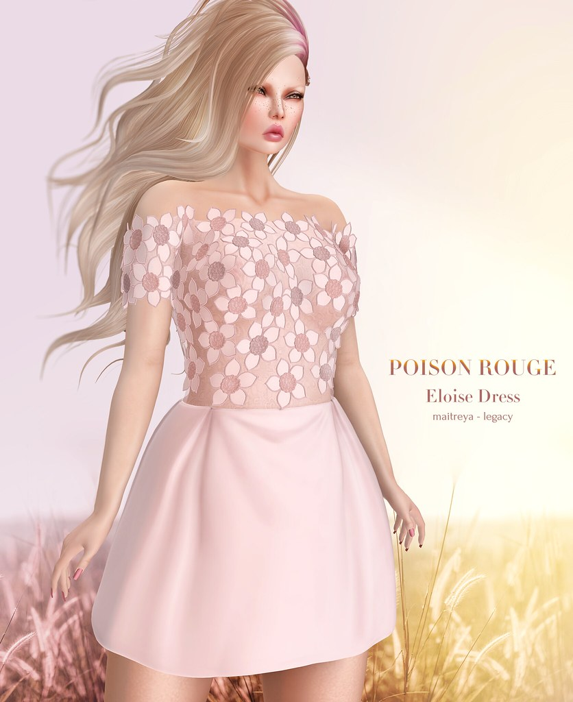 POISON ROUGE Eloise Dress