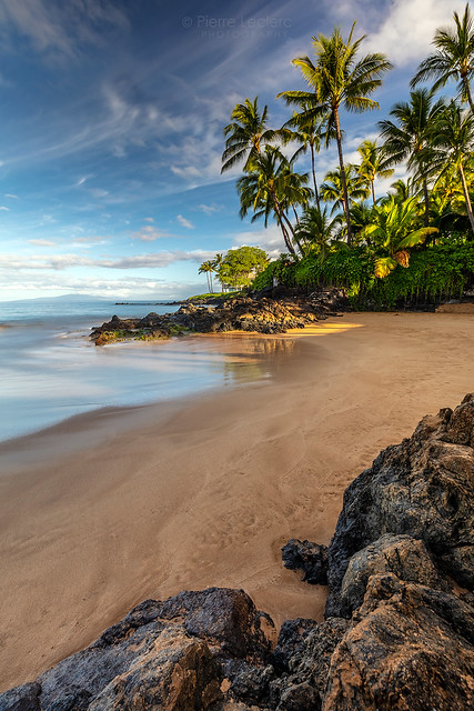 Early Morning Walk on a South Maui Beach