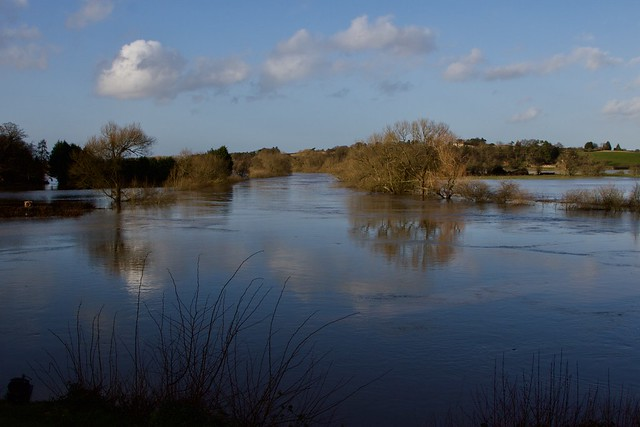 River Severn on the rise after Storm Dennis