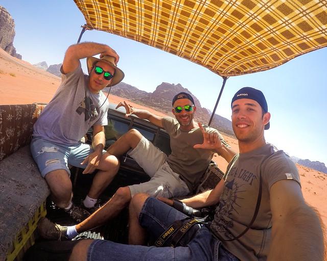 En 4x4 por el desierto de Wadi Rum