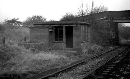 A former railway building on ex-GC at Blacker near Barnsley