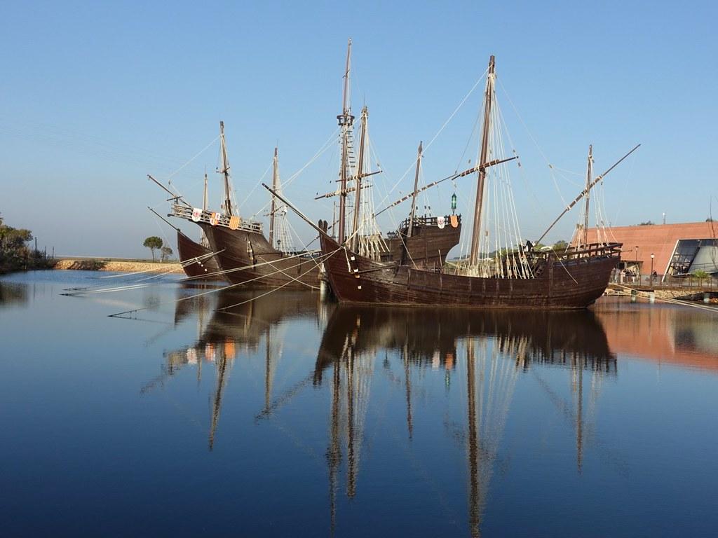 Las tres carabelas. La Rábida. Huelva