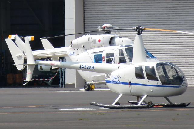 JA520H JA6651 Tokyo Heliport 26 September 2019