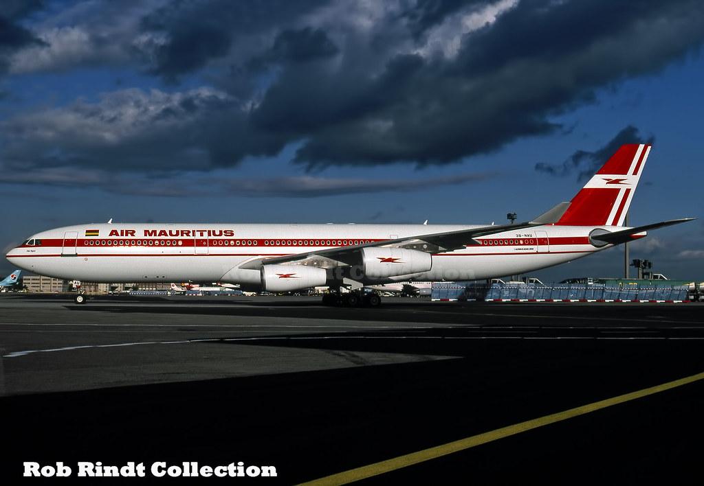 Air Mauritius A340-312 3B-NAU
