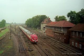 """601.014+601.008 - """"Hansa Express"""" Kaliningrad - Koln Hbf;"""