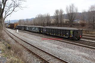 CSXT Y103-12 at Riverton (McKeesport,PA) on February 12,2020