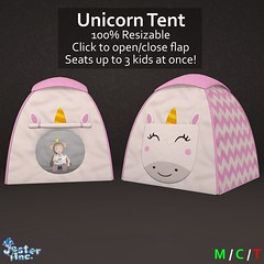 Presenting the new Unicorn Tent from Jester Inc.