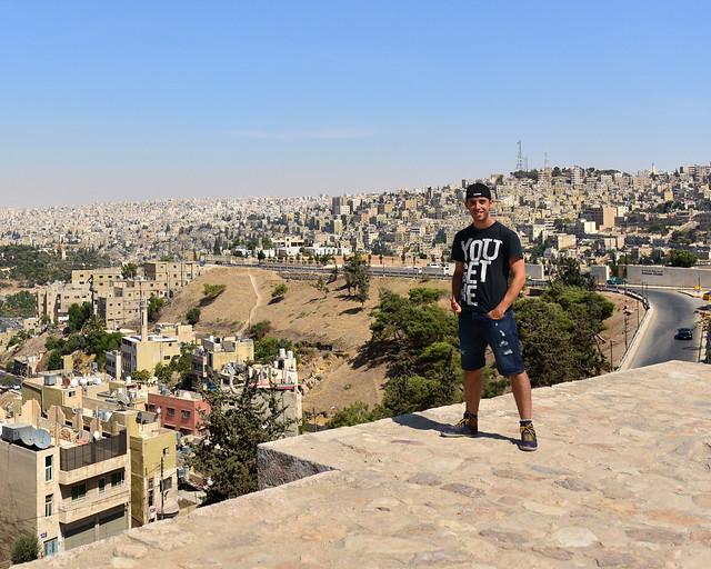 Mirador en la Ciudadela de Amman