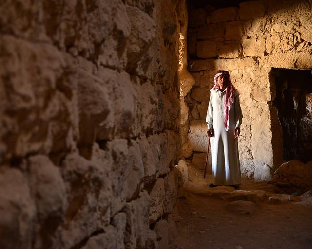 Interior del castillo de Karak