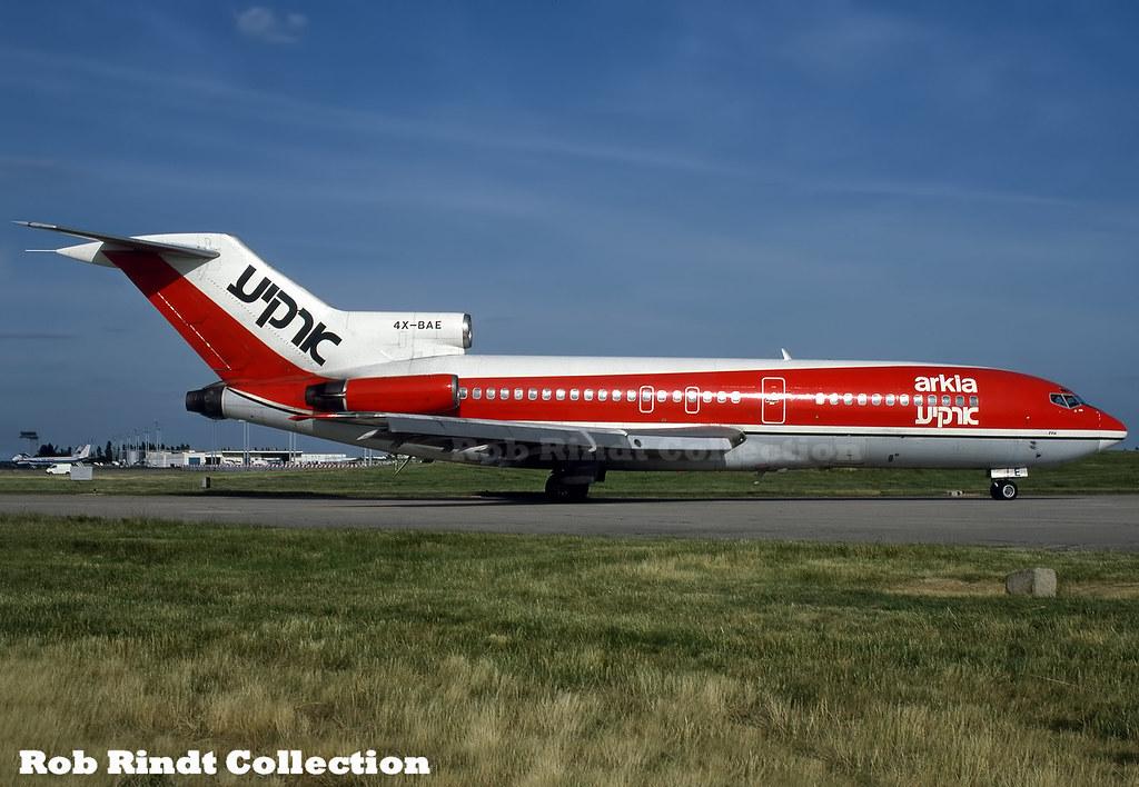 Arkia Israeli Airlines B727-95 4X-BAE
