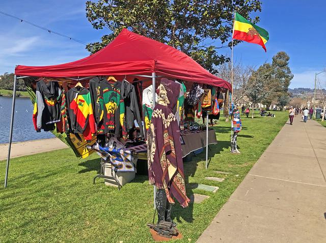 Jamaica products, booth, Lake Merritt