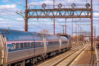 Amtrak 176, Chester, 2020-02-14