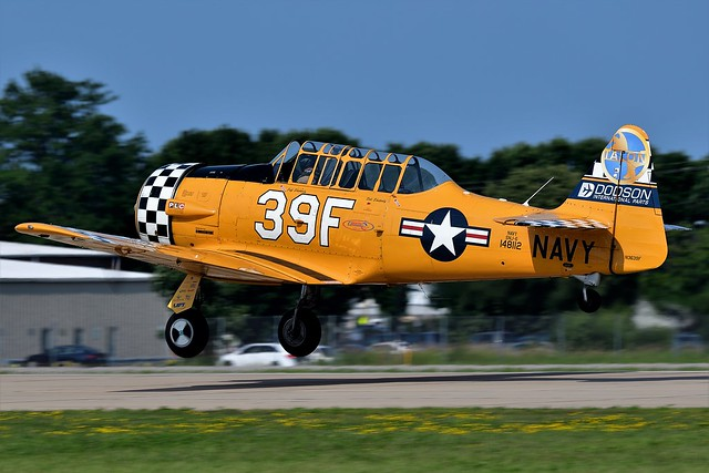 1AA_6526 North American SNJ-6 Texan N3639F 148112 US Navy Dodson International Parts Texan was a WWII Trainer