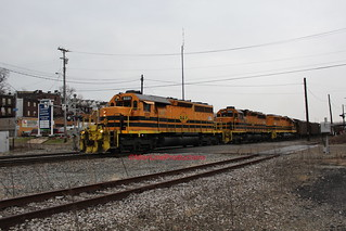 CSXT T065-16 at Riverton (McKeesport,PA) on February 16,2020