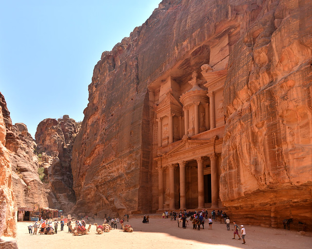 El Tesoro, maravilla del mundo en Jordania, de los lugares más importantes a visitar