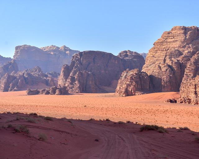 Desierto de Wadi Rum, una de las mejores cosas que ver en Jordania