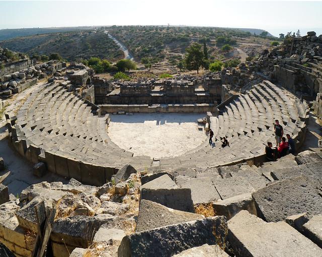 Teatro romano de Umm Qais