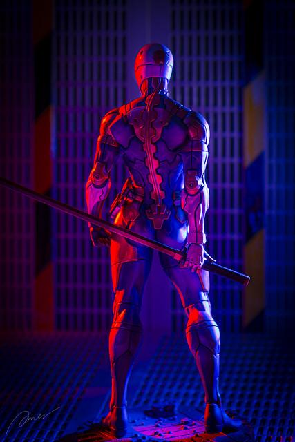 Gecco Metal Gear Solid Cyborg Ninja 1/6 scale statue