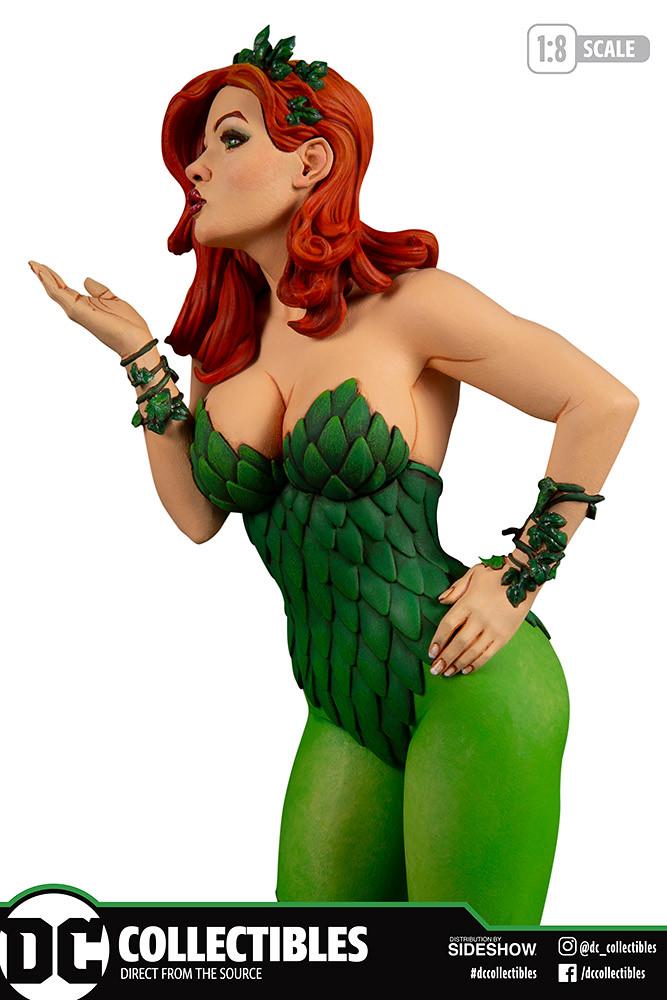 DC Collectibles DC 封面女郎系列【毒藤女 (Poison Ivy) by Frank Cho】1/8 比例全身雕像