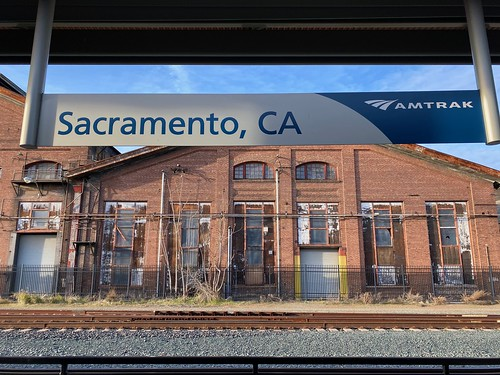 Sacramento train station