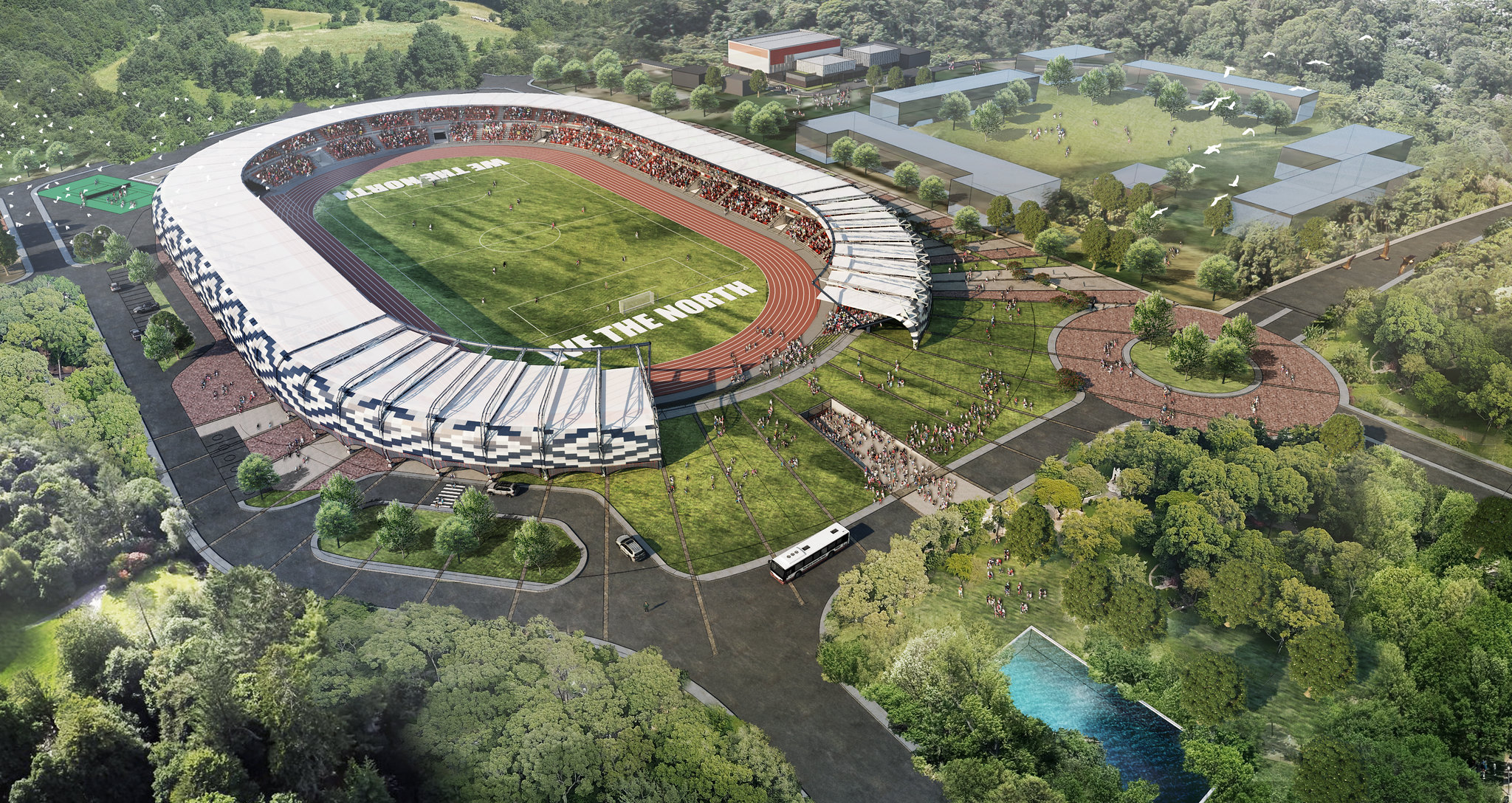 """Sustainable"" Capitol, new stadium-park soon to rise"