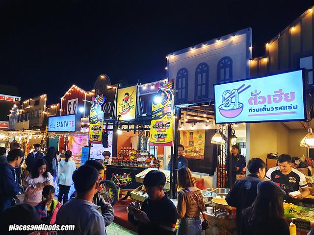 singha park balloon fiesta 2020 food stalls