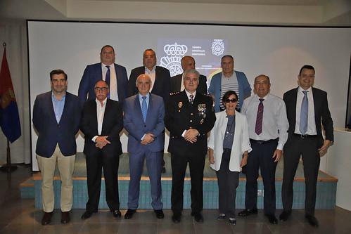 Homenaje Comisario Jose Luis Galdon