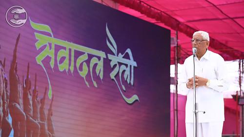 VD Nagpal Ji Member Incharge Sewa Dal