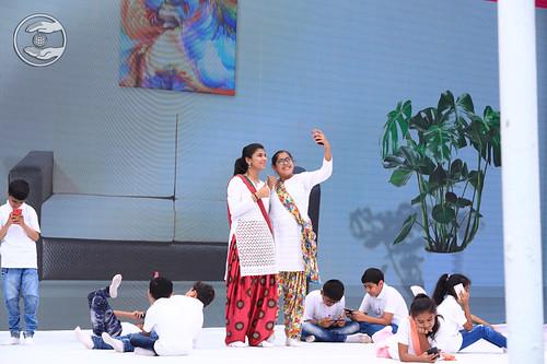 Mobile Demerit presented by devotees, Ahmednagar