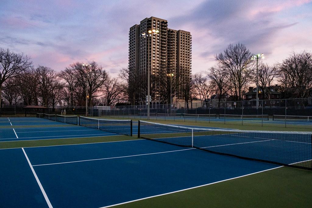 North Hudson Park tennis court