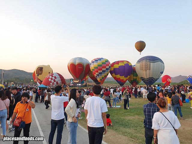 singha park balloon fiesta 2020 event