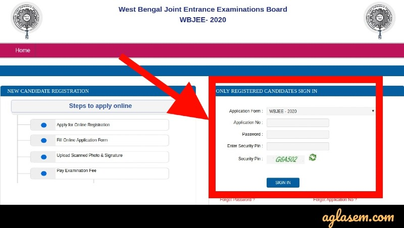 WBJEE 2020 Official Answer Key Download Login